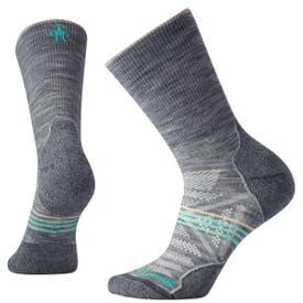 Smartwool PhD Outdoor Light Hiking Crew Socks Women's - Light Grey
