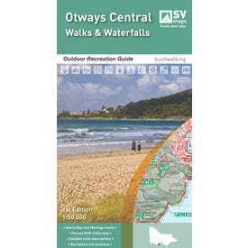 SVmaps Otways Central: Walks and Waterfall - 1:50,000