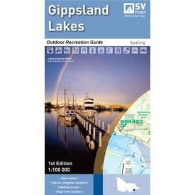 SVmaps The Gippsland Lakes - 1:100,000