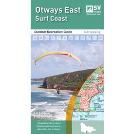 SVmaps Otway East: Surfcoast - 1:50,000