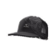 Arc'teryx Topographical Trucker Hat - Black