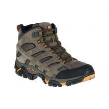 Merrell® Moab 2 Leather Mid Gore-Tex Men's Boot - Walnut