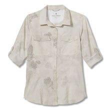 Royal Robbins Bug Barrier Expedition Printed LS Shirt Women's - Cream