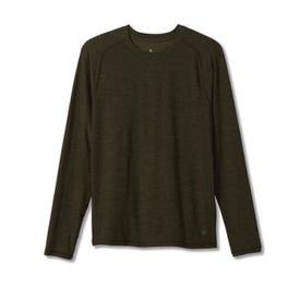 Royal Robbins Bug Barrier Tech Travel LS Shirt Men's - Dark Olive Heather